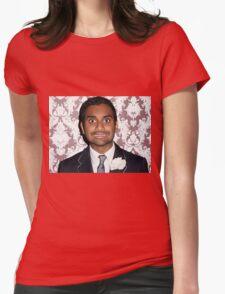 aziz ansari  Womens Fitted T-Shirt