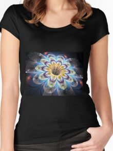 Mosaic light Women's Fitted Scoop T-Shirt