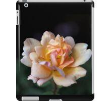 Lone Peach Rose iPad Case/Skin