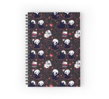 Reapeep (Black) Spiral Notebook