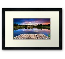 Strbsky rybnik Framed Print
