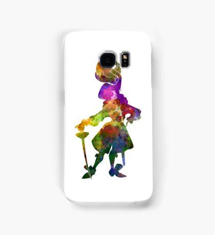 Captain Hook in watercolor Samsung Galaxy Case/Skin