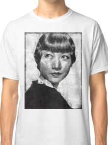 Anna May Wong Vintage Hollywood Actress Classic T-Shirt