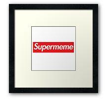 supermeme Framed Print