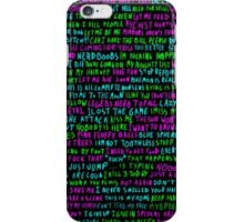 words never miss iPhone Case/Skin