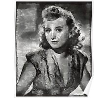 Celeste Holm Hollywood Actress Poster