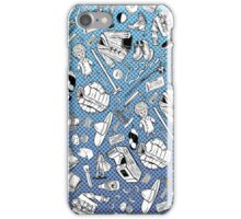 A Pattern About Nothing (Seinfeld) iPhone Case/Skin