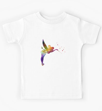 Tinkerbell in watercolor Kids Tee