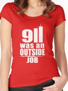 USA 11-9-2001 tshirt Women's Fitted Scoop T-Shirt