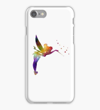 Tinkerbell in watercolor iPhone Case/Skin