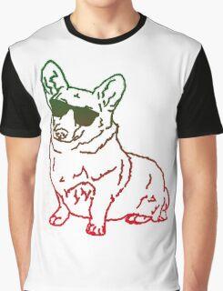 Corgi glass Graphic T-Shirt