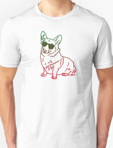 Corgi glass Unisex T-Shirt
