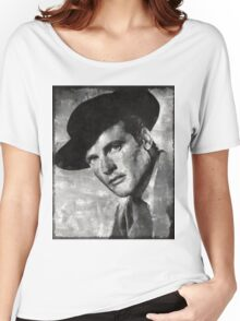 Roger Moore Hollywood Actor Women's Relaxed Fit T-Shirt