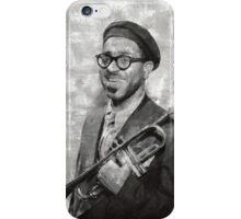 Dizzy Gillespie Vintage Jazz Musician iPhone Case/Skin