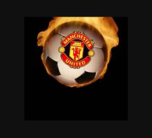 Manchester United Ball Fire Unisex T-Shirt