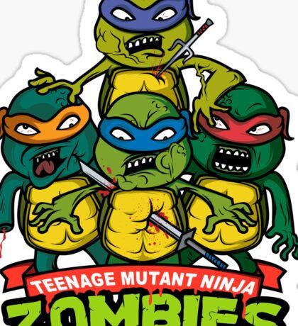 Teenage Mutant Ninja Zombies Sticker