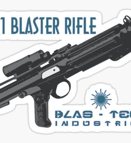 Star Wars Stormtrooper E-11 Blaster Sticker