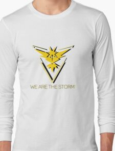 Team Instinct - We Are the Storm Long Sleeve T-Shirt