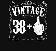 Vintage middle finger salute 39th birthday gift funny 39 birthday 1977 Unisex T-Shirt