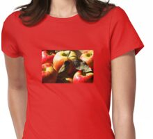Autumn Apples Womens Fitted T-Shirt