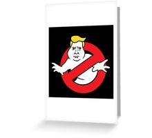 trump buster Greeting Card