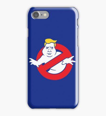 trump buster iPhone Case/Skin