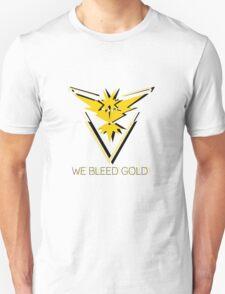 Team Instinct - We Bleed Gold Unisex T-Shirt