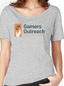 Gamers Outreach Logo V2 Women's Relaxed Fit T-Shirt