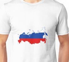 RUSSIA FLAG Unisex T-Shirt