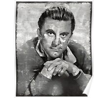 Kirk Douglas by MB Poster