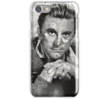 Kirk Douglas by MB iPhone Case/Skin