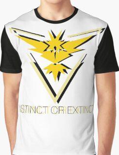 Team Instinct - Instinct or Extinct Graphic T-Shirt