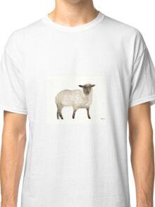 Sheep painting Classic T-Shirt