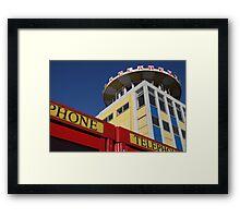 Southsea telephone box Framed Print