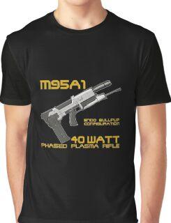 Terminator M95A1 Plasma Rifle Graphic T-Shirt