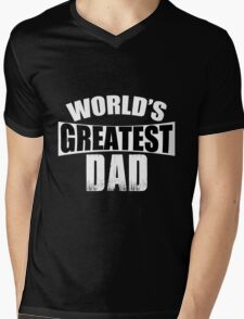 Dad - World's Greatest Dad T-shirts Mens V-Neck T-Shirt