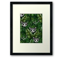 Jungle Kittens Framed Print