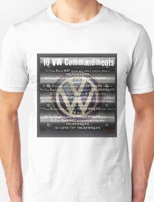 VW Commandments Unisex T-Shirt