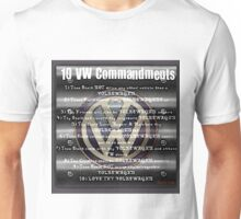 VW Commandments Unisex T-Shirt