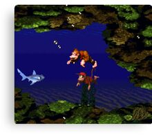 Donkey Kong Country - Coral Capers Canvas Print
