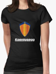 koenigsegg one Womens Fitted T-Shirt