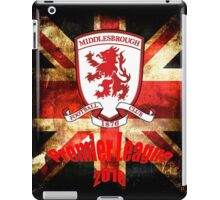 Middlesbrough Premier League 2016 iPad Case/Skin