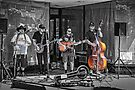 Street Band - selective colour by PhotosByHealy