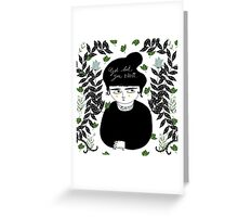 Get Lost! Greeting Card