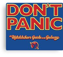 The Hitchhiker's Guide to the Galaxy Canvas Print