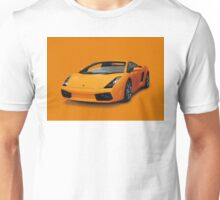 Orange Lamborghini Unisex T-Shirt