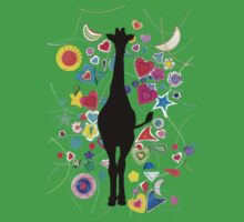 Giraffe world One Piece - Short Sleeve