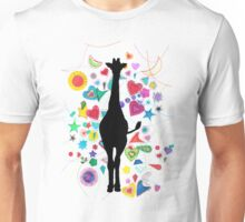 Giraffe world Unisex T-Shirt