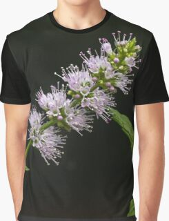 Mint Flower Graphic T-Shirt