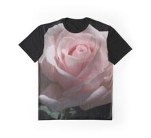 Pale Pink Rose Graphic T-Shirt